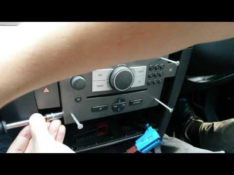 Vectra C Astra,Corsa-  Radio removal / Jak wyjąć radio
