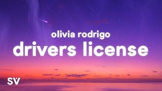 Olivia Rodrigo - drivers license (Lyrics) | I got my driver's license last week