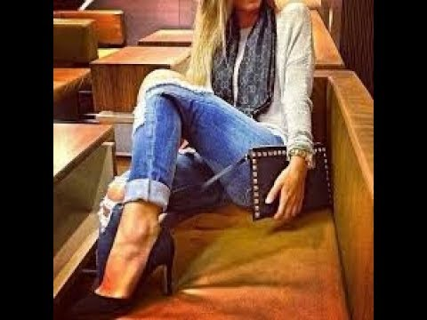 Best Ripped Jeans & Heels All Day