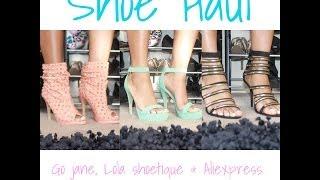 Shoe Haul: Lola Shoetique, GoJane.com & Aliexpress