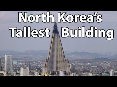 The Tallest Building in North Korea - Ryugyong Hotel