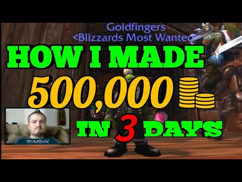 HOW I MADE 500,000 GOLD this weekend (Emptying my mailbox) World of Warcraft BFA