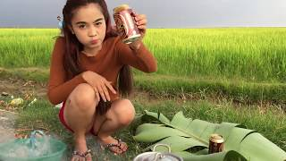 Village Food Factory - Beautiful Girl Cooking - traditional food in cambodia #21