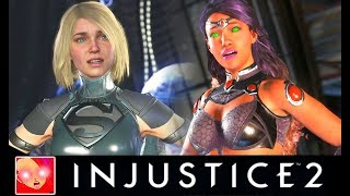 Injustice 2 - All Saddest Intro Dialogues UPDATED