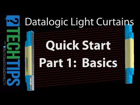 Datalogic Light Curtains - Part I - Quick Start Basics