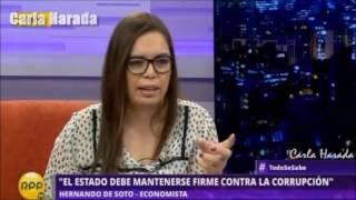 2017-01-30 - Hernando de Soto en Todo Se Sabe