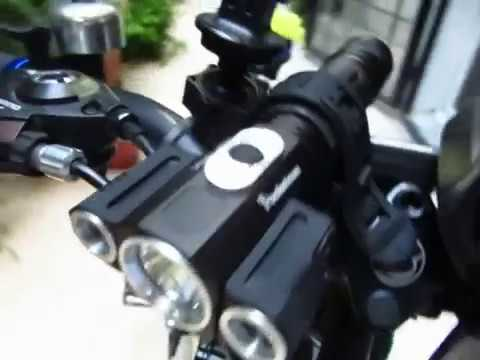 Buyincoins Bicycle Mount Clamp Clip Cycling Torch Lamp Light Bracket Flashlight LED Holder