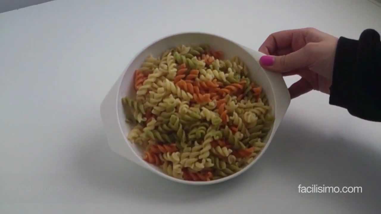C mo cocer pasta en el microondas youtube - Hacer pasta en el microondas ...