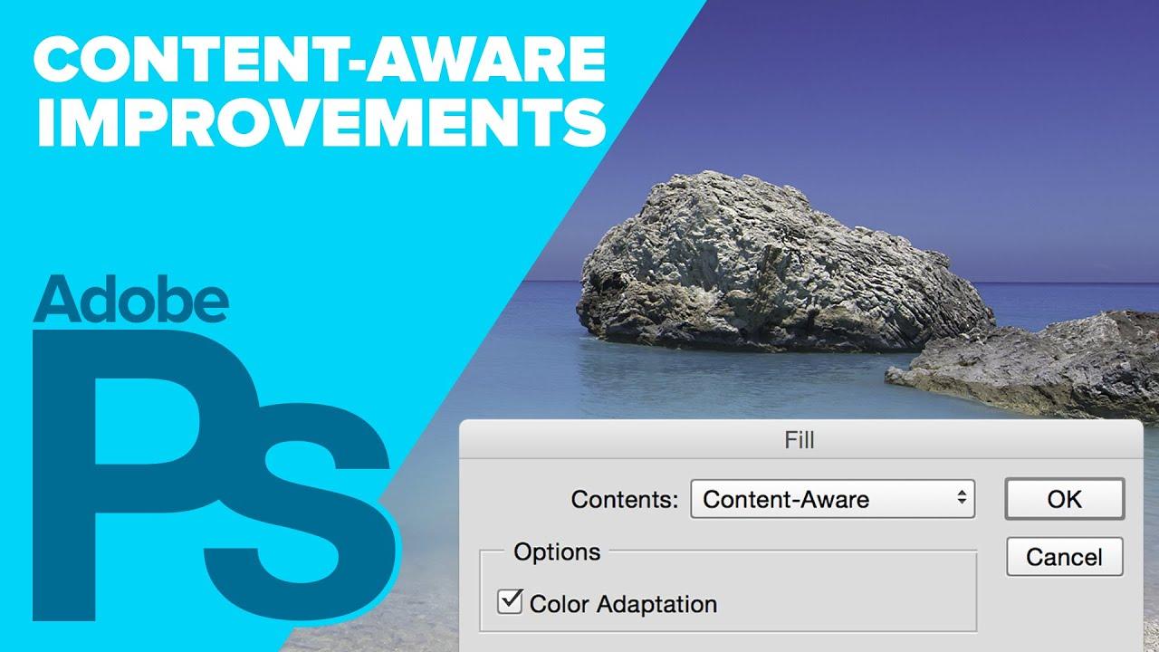 Adobe Photoshop CC: Content-Aware Improvements