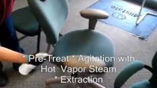 How We Clean Office Chair With Vapor Steamer 407- 572 4118 Steps To Upholstery Cleaning