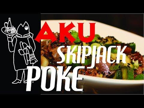 Catch And Cook Tuna Recipe? 😉Aku Tuna, Skipjack!! Hawaii's Favorite Fish For Poke?