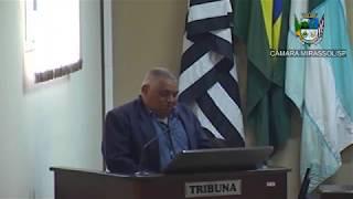 23ª Sessão Ordinária - Vereador Mineiro