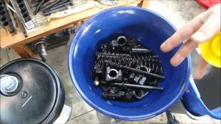 Engine Rebuilding - Part Cleaning