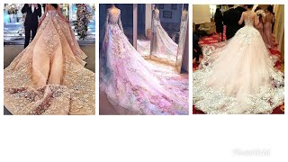Stunning fairytale gowns.. latest gown designs.. must watch.. ray's world