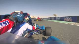 Gopro fails and then my clutch plate breaks Rotax max