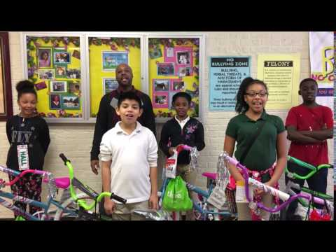 Howey Hudson Lowe Foundation Help A Child Ride 2016-Farrington Elementary School