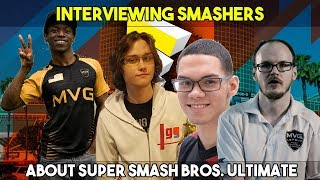 Interviews at E3 about Super Smash Bros. Ultimate Feat. ZeRo, Mew2king, Salem and more