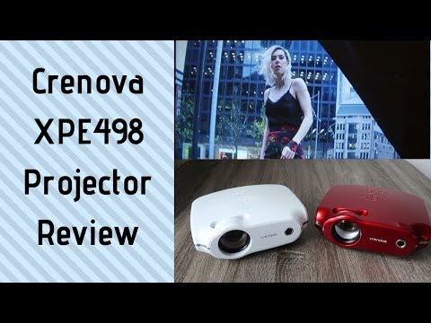 Crenova XPE498 Projector Review | Amazon Prime Day Sale