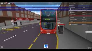 Roblox North London bus Simulator Wright Pulsar Gemini DAF DB300 sulla Route 144 con incidenti