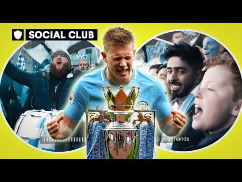 MAN CITY: PREMIER LEAGUE CHAMPIONS 2017/18 SPECIAL | SOCIAL CLUB