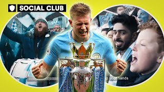 Manchester city's embarrassing title celebrations | social club