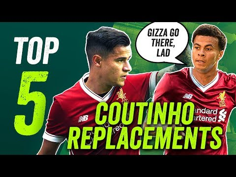 COUTINHO to Barcelona, ALLI to Liverpool? The five men to replace Coutinho at Anfield!