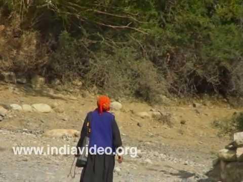 Villagers in Hundar, Ladakh