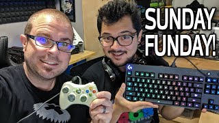 It's a LIVE Sunday Gaming Extravaganza!