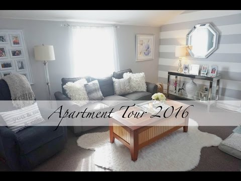 Small Apartment Tour 2016 (New Jersey) | Chelsea Hernandez