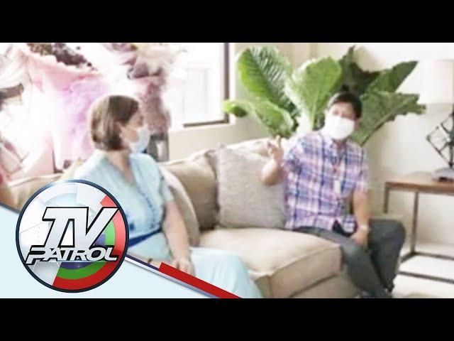 Sara duterte-carpio at Bongbong marcos nagkita sa party sa cebu | TV Patrol