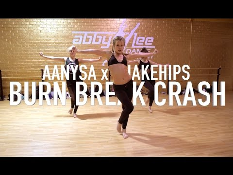 Burn Break Crash ft Charlize Glass - Aanysa x Snakehips | Brian Friedman Choreo | ALDC LA