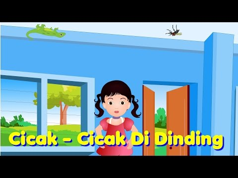Cicak - Cicak Di Dinding | Lagu Anak TV | Lizards on The Wall Song in Bahasa Indonesia