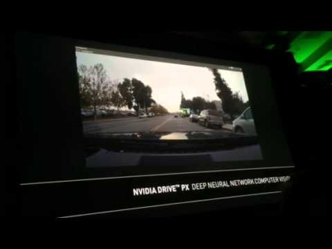 Nvidia demos neural net learning for car vision systems