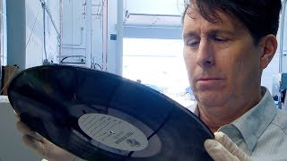 Edmonton man reinvests in vinyl records, pressing his own
