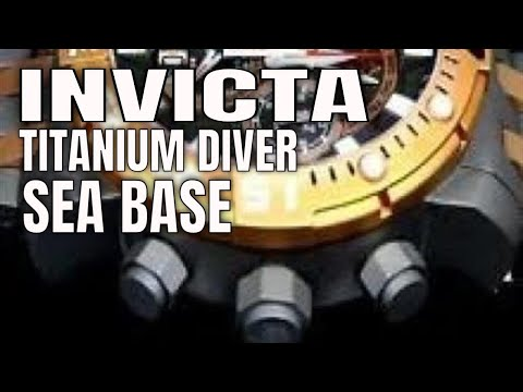 Invicta Watch Review : Invicta Sea Base Titanium Divers Watch
