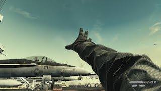 Daring Attack on US Aircraft Carrier ! In FPS Game about Modern War Call of Duty Ghosts
