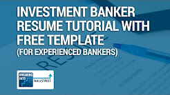 Sample Investment Banking Vp Resume Sample Investment Banking Vp