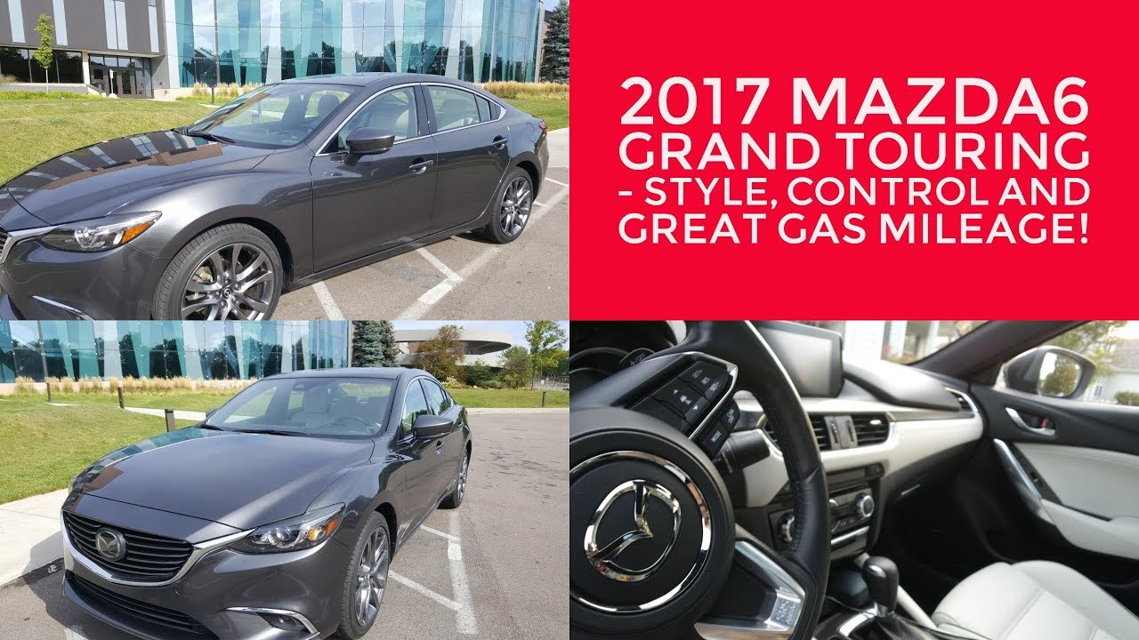 Attractive 2017 Mazda6 Grand Touring   Style, Control And Great Gas Mileage!