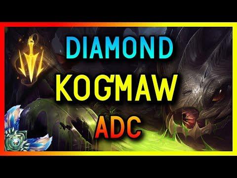 DIAMOND ADC KOG'MAW GAMEPLAY SEASON 8 - League of Legends thumbnail