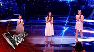 Jazzy B, Keira and Connie Perform 'Rewrite The Stars' | The Battles | The Voice Kids UK 2019