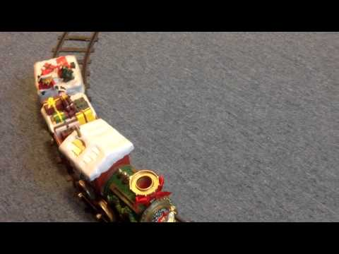 North Pole Express Musical Train (1Engine+2Carts)