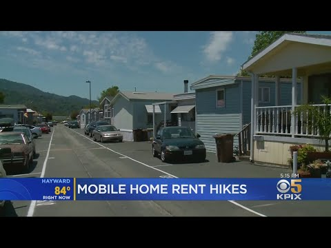 Residents Of Marin County Mobile Home Park Panicking Over Rent Increases