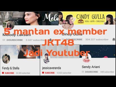 5 mantan ex member jkt48 jadi youtuber