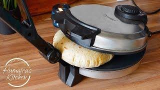 Roti Maker Machine Review - Chapati Maker - Gol roti banane ka tarika - Perfect roti making
