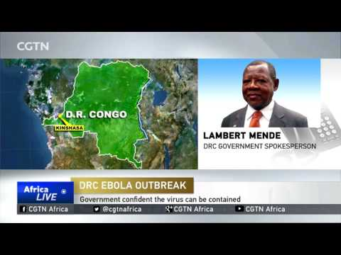 DRC Ebola Outbreak: Government confident the virus can be contained