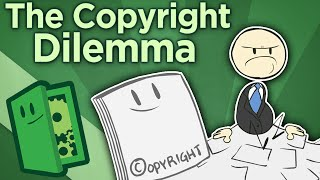 The Copyright Dilemma - On Trademarks, Copyrights, and Patents - Extra Credits thumbnail