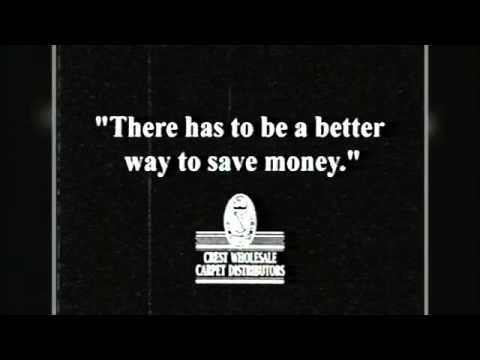 A Classic Crest Commercial: The Big Sale