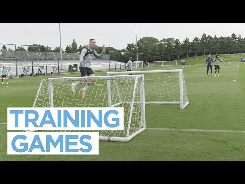 TRAINING THE CITY OF MAN |  POST LEICESTER WIN TRAINING
