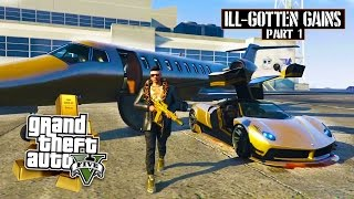 GTA 5 - $25,000,000 Spending Spree! NEW ILL-GOTTEN GAINS DLC SHOWCASE! (GTA 5 DLC Gameplay)