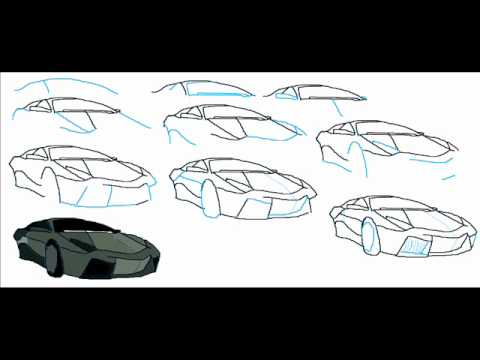[Full Download] How To Draw A Lamborghini Reventon Car ...